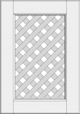 Cabinet doors with lattice DP-GD