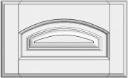 Framed arch drawer with raised panel STR-EMK