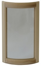 Convex cabinet doors for glass DSC-ED
