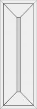 Blenda rėminė su lygiu įsprūdu BLL-XJB