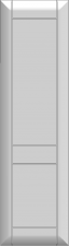 Aukštos durelės su 1 skersiniu DRH-FMMA