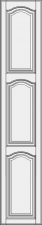 Aukštos durelės su 2 skersiniais DRH2-EMN
