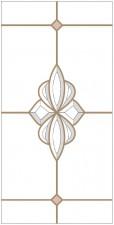 Dekoratyvinis vitražas DV-B3