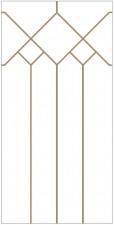 Dekoratyvinis vitražas DV-P1