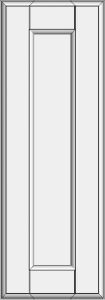 Framed slab with flat panel BLL-ED. Framed slab with flat panel BLL-ED
