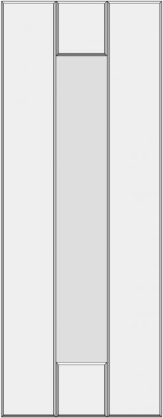 Framed slab with flat panel BLL-GA. Framed slab with flat panel BLL-GA