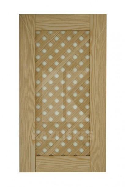 Cabinet doors with lattice DP-GA. Cabinet doors with lattice DP-GA