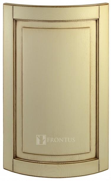 Convex cabinet doors DRC-ES. Uosis. Dažyta ir patinuota.