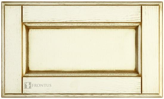 Framed drawer with flat panel STL-ED. ash.4.50.4