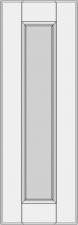 Framed slab with flat panel BLL-EE