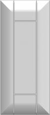 Framed slab with raised panel BLR-FMMA