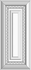 Framed slab with raised panel BLR-XGS