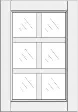 Mullion cabinet doors DJ-EE