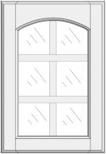 Mullion cabinet doors DJ-EMK