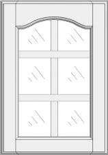 Mullion cabinet doors DJ-EMN