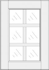 Mullion cabinet doors DJ-GD