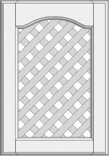 Cabinet doors with lattice DP-EMN