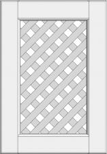 Cabinet doors with lattice DP-GD