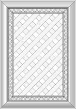 Cabinet doors with lattice DP-XGS