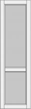 High cabinet doors with 1 crossbar DRH-EE