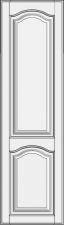 High cabinet doors with 1 crossbar DRH-EMN