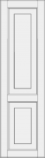 High cabinet doors with 1 crossbar DRH-GD