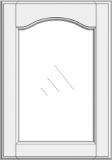 Cabinet doors for glass DS-EMN
