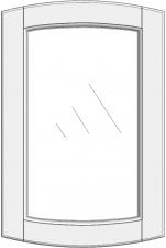 Convex cabinet doors for glass DSC-EE