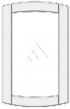 Convex cabinet doors for glass DSC-ES
