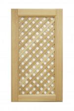 Cabinet doors with lattice DP-ED